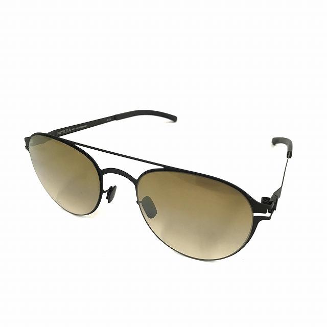 マイキータ MYKITA NO.1 SUN REGINALD サングラス 眼鏡 ブラック BLACK BRONZE GRADIENT FLASH col.002 メンズ 【中古】【ベクトル 古着】 180821 VECTOR×Refine