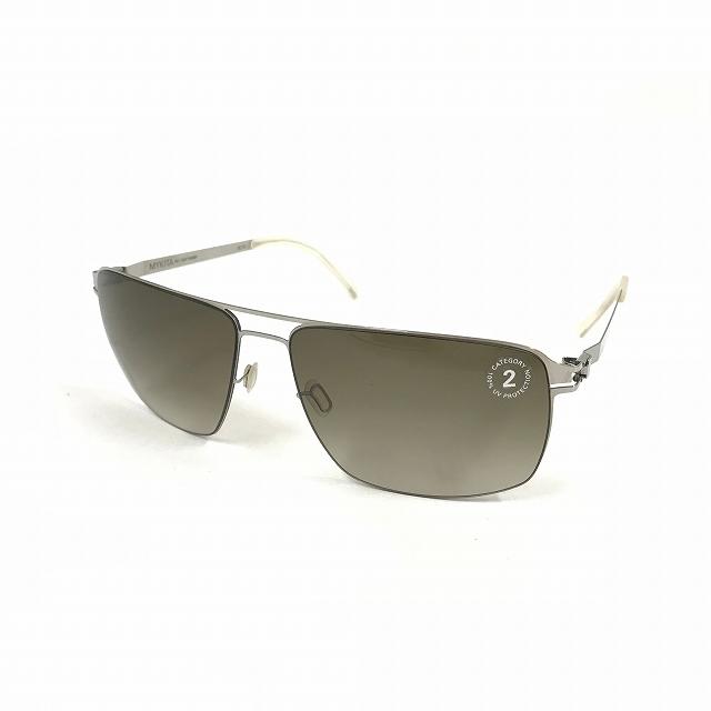 マイキータ MYKITA 1SUN OWEN サングラス 眼鏡 SHINYSILVER OLIVE GRADIENT col.051 メンズ 【中古】【ベクトル 古着】 180823 VECTOR×Refine