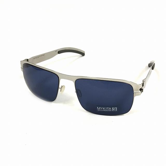 マイキータ MYKITA 1SUN LENNY サングラス 眼鏡 SHINYSILVER SOLID col.051 メンズ 【中古】【ベクトル 古着】 180825 VECTOR×Refine