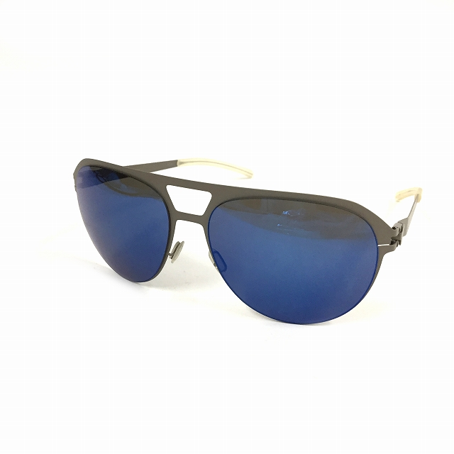 【中古】マイキータ MYKITA NO.1 SUN ARON サングラス 眼鏡 DIMGREY COMETBLUE FLASH col.174 メンズ 【ベクトル 古着】 180825 VECTOR×Refine