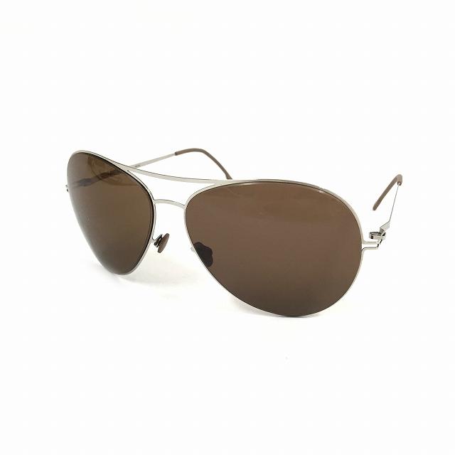 マイキータ MYKITA LITE ALVAR サングラス 眼鏡 シルバー SHINYSILVER SOLID col.051 メンズ 【中古】【ベクトル 古着】 180825 VECTOR×Refine
