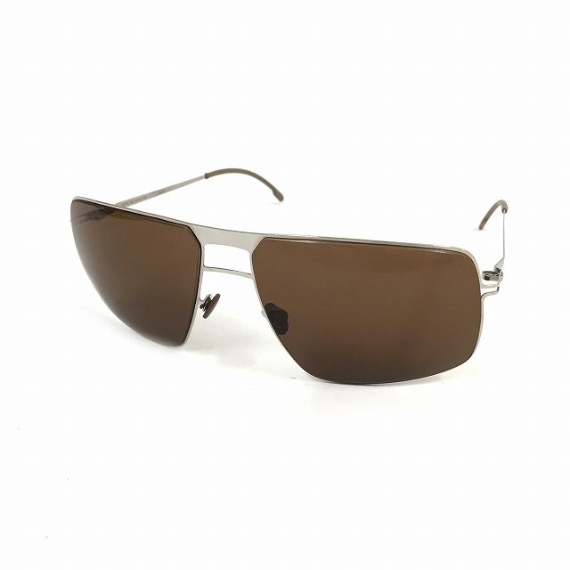 マイキータ MYKITA LITE SUN LEIF サングラス 眼鏡 シルバー SHINYSILVER SOLID col.051 メンズ 【中古】【ベクトル 古着】 180825 VECTOR×Refine