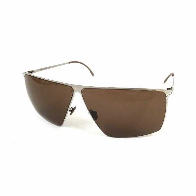 マイキータ MYKITA LITE SUN AMUND サングラス 眼鏡 シルバー SHINYSILVER SOLID col.051 メンズ 【中古】【ベクトル 古着】 180825 VECTOR×Refine