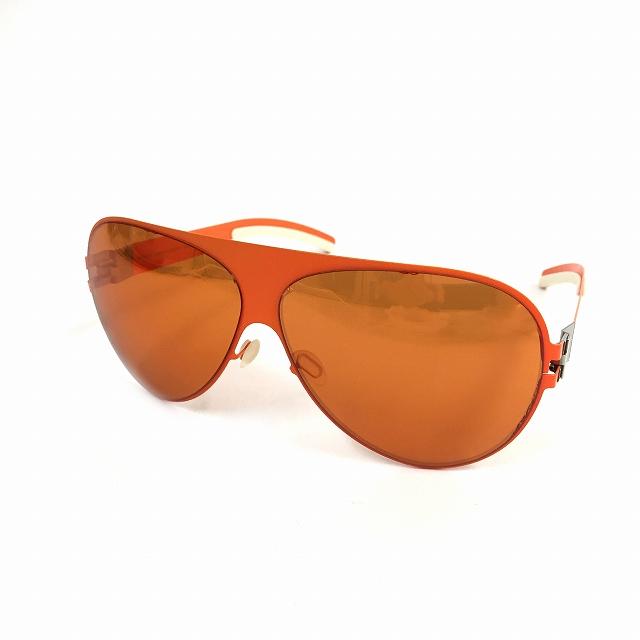 マイキータ MYKITA ベルンハルトウィルヘルム bernhard willhelm FRANZ サングラス 眼鏡 オレンジ col.F55 メンズ 【中古】【ベクトル 古着】 180825 VECTOR×Refine