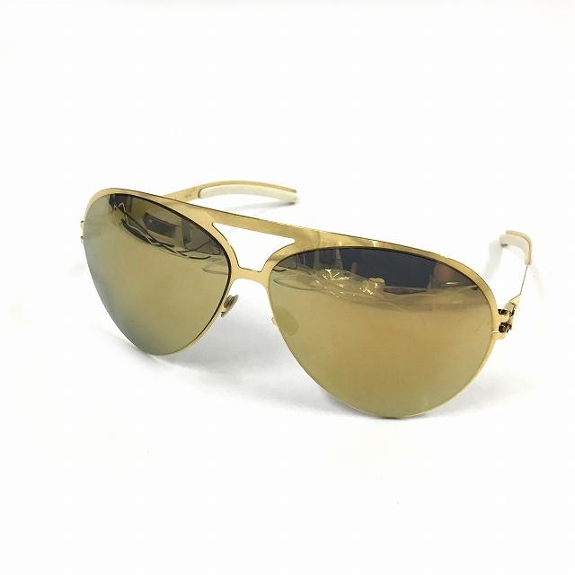 マイキータ MYKITA ベルンハルトウィルヘルム bernhard willhelm COLLABORATIONS SEPP サングラス 眼鏡 ゴールド col.F9 GOLD メンズ 【中古】【ベクトル 古着】 180825 VECTOR×Refine
