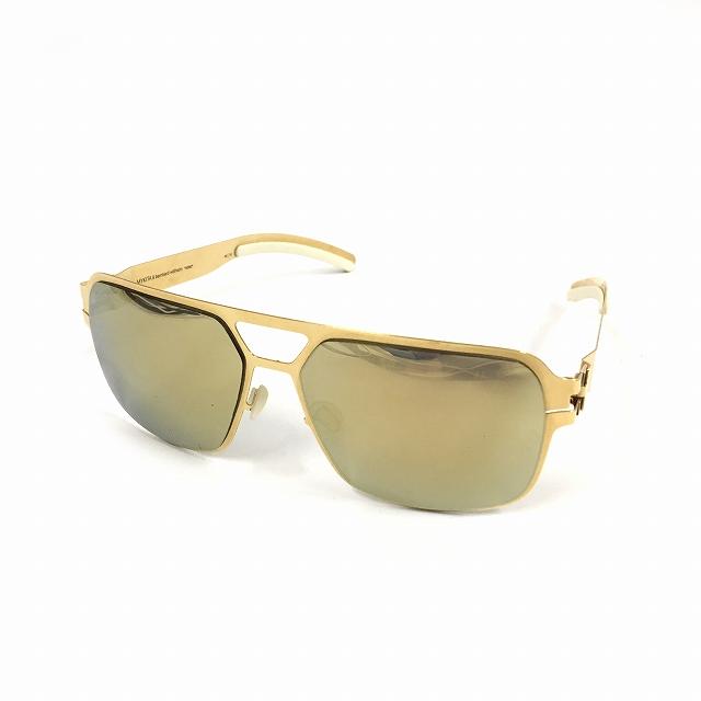 マイキータ MYKITA ベルンハルトウィルヘルム bernhard willhelm HEINZ サングラス 眼鏡 ゴールド GOLD col.F9 メンズ 【中古】【ベクトル 古着】 180825 VECTOR×Refine
