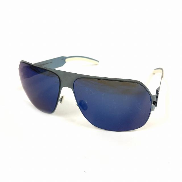 マイキータ MYKITA ベルンハルトウィルヘルム bernhard willhelm XAVER サングラス 眼鏡 ブルー 青 col.F60 PIGEONBLUE メンズ 【中古】【ベクトル 古着】 180825 VECTOR×Refine