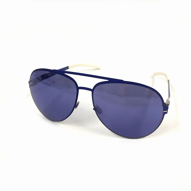 マイキータ MYKITA ベルンハルトウィルヘルム bernhard willhelm ERWIN サングラス 眼鏡 ブルー INTERNATIONALBLUE col.F48 メンズ 【中古】【ベクトル 古着】 180826 VECTOR×Refine