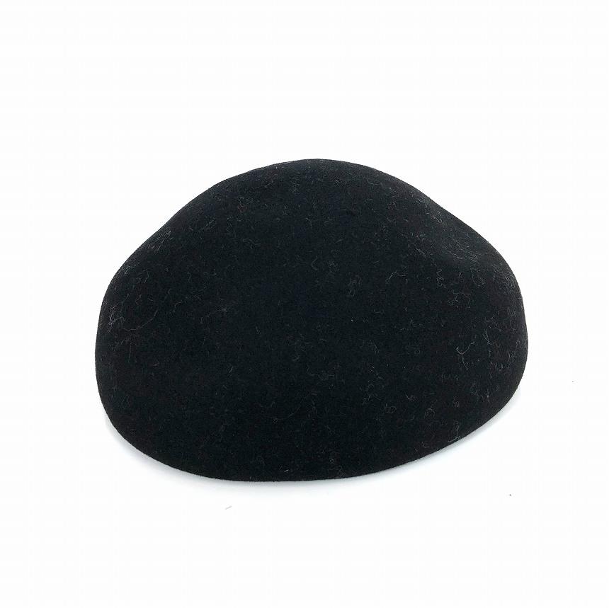 レナードプランク REINHARD PLANK フェルト ベレー帽 帽子 ZUCCOTTO/L01 ブラック 黒 L col.013 6589982045 メンズ 【中古】【ベクトル 古着】 181223 VECTOR×Refine