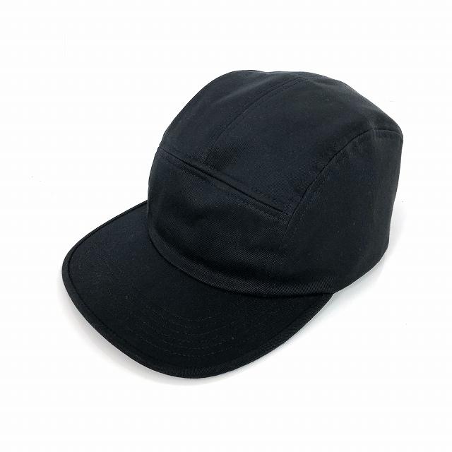 シュプリーム SUPREME 16AW Raised SUP Camp Cap キャップ 帽子 ブラック 黒 メンズ 【中古】【ベクトル 古着】 190112 VECTOR×Refine