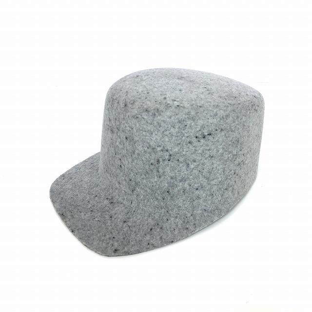レナードプランク REINHARD PLANK フェルト ウール ワークキャップ 帽子 CAP W0E グレー SIZE 09 M 6589972017 col.010 メンズ 【中古】【ベクトル 古着】 190120 VECTOR×Refine