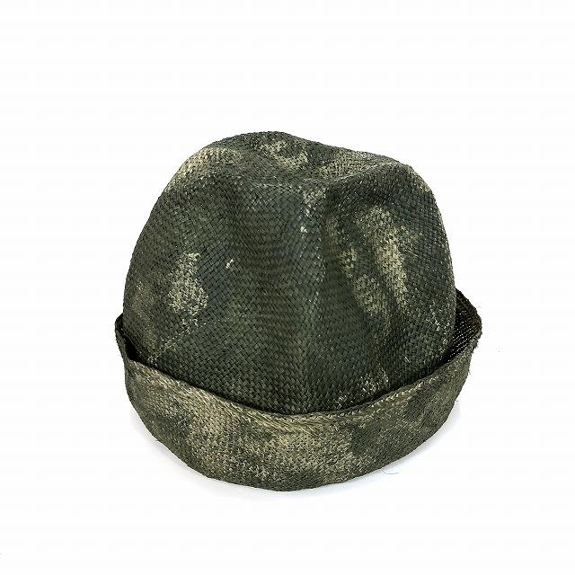レナードプランク REINHARD PLANK ストローハット 麦わら帽子 ARTISTA RAS カーキ SIZE 13 XL 6501971004 col.922 メンズ 【中古】【ベクトル 古着】 190127 VECTOR×Refine