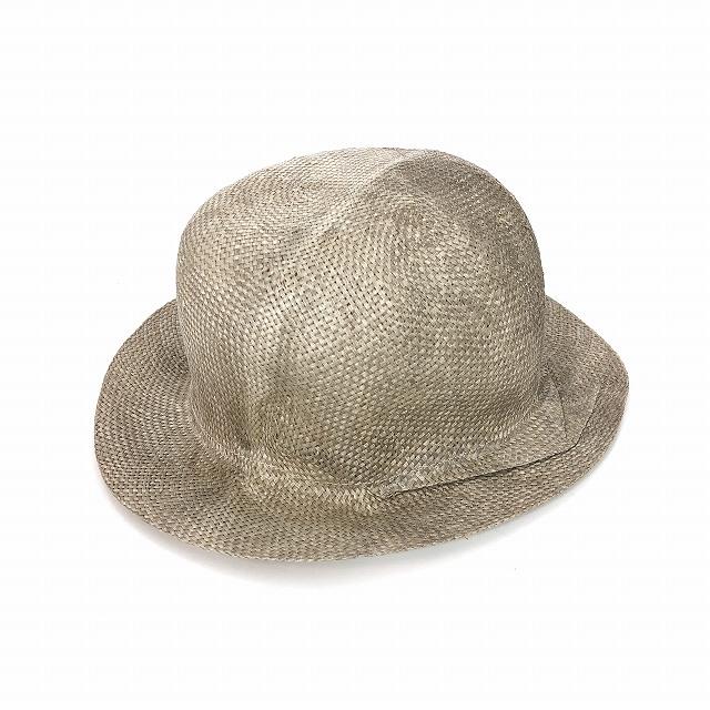 レナードプランク REINHARD PLANK ストローハット 麦わら帽子 TONDO P RAS ナチュラル SIZE 13 XL 6589981040 col.151 メンズ 【中古】【ベクトル 古着】 190203 VECTOR×Refine