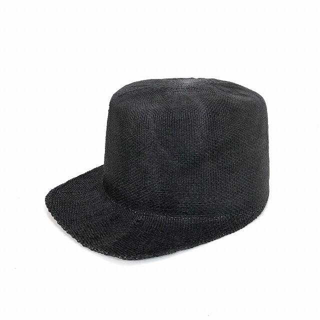 レナードプランク REINHARD PLANK ストローキャップ 麦わら帽子 CAP BNK ブラック 黒 SIZE 13 XL 6539971002 col.013 メンズ 【中古】【ベクトル 古着】 190208 VECTOR×Refine