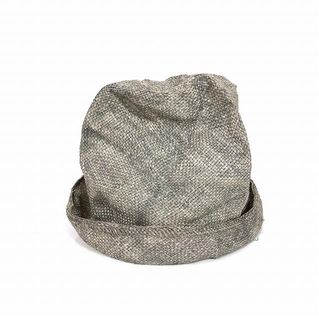 レナードプランク REINHARD PLANK ストローハット 麦わら帽子 ARTISTA RAS グレーベージュ SIZE 11 L 6589971011 col.950 メンズ 【中古】【ベクトル 古着】 190208 VECTOR×Refine