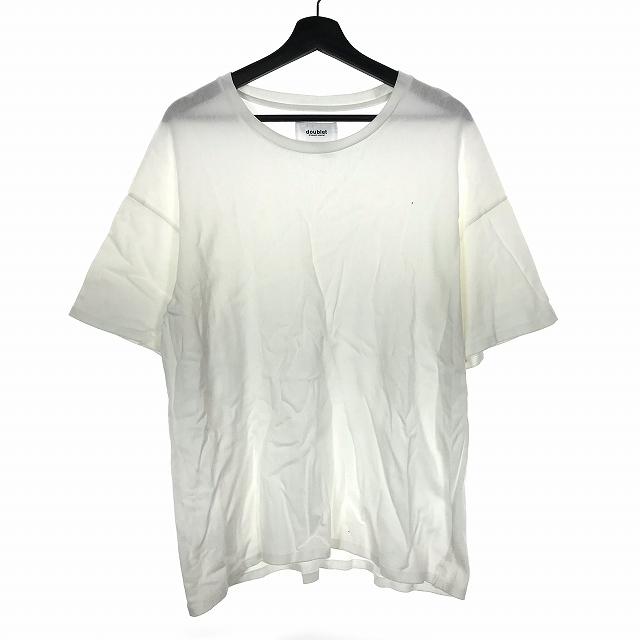 ダブレット doublet 16AW POPCORN PAC T-SHIRT ポップコーン パック Tシャツ カットソー 半袖 白 ホワイト L 16AW18CS49 メンズ 【中古】【ベクトル 古着】 190228 VECTOR×Refine