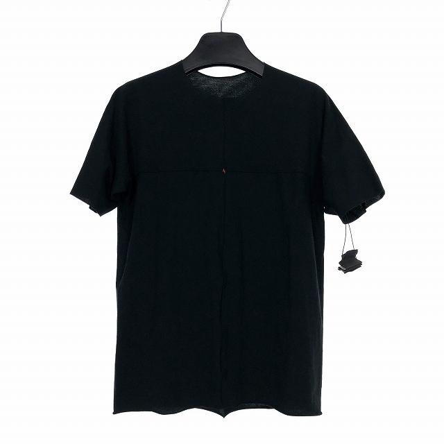 エムエークロス ma+ ONEPIECE SHORT SLEEVE T-SHIRT ワンピース ショートスリーブ Tシャツ カットソー ブラック 黒 44 17S-T211C JCL12 メンズ 【中古】【ベクトル 古着】 190303 VECTOR×Refine