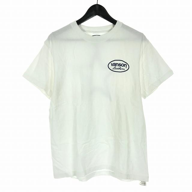バンソン VANSON x Ron Herman スタープリント Tシャツ カットソー 半袖 ホワイト 白 S メンズ 【中古】【ベクトル 古着】 190305 VECTOR×Refine