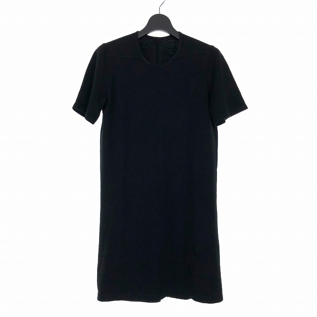 【中古】ダークシャドウ DRKSHDW 16AW レベル ロング Tシャツ カットソー 半袖 XS ブラック 黒 DU16F8250-BG メンズ 【ベクトル 古着】 190804 VECTOR×Refine