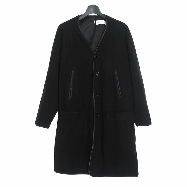 【中古】ダイエットブッチャースリムスキン DIET BUTCHER SLIM SKIN 19AW Lining coat ライニング コート ジャケット 1 ブラック 黒 DBG9509021 メンズ 【ベクトル 古着】 200508 VECTOR×Refine