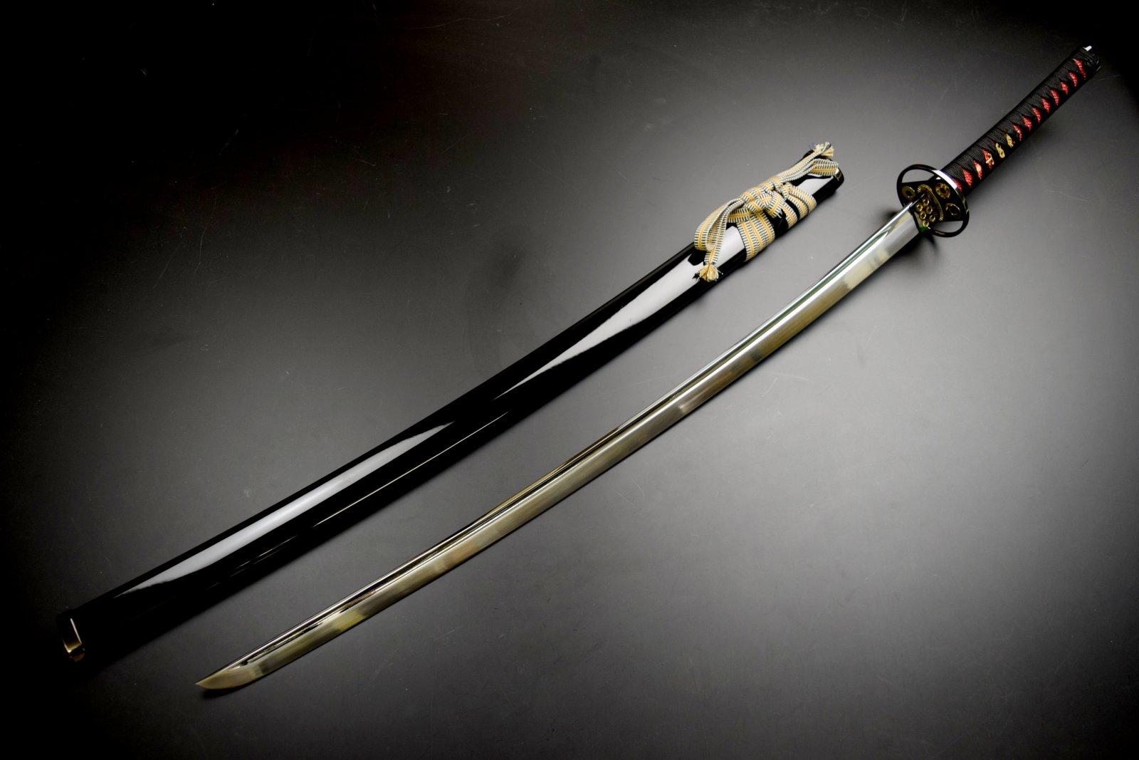 美術刀剣 模造刀 六文銭拵え大刀 黒呂※本品は、メール便及び、ゆうパケット、コンビニ受取は対応しておりません。