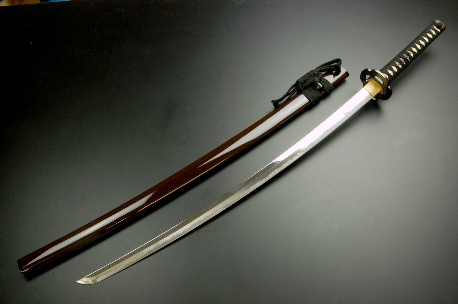 Katana with sheath