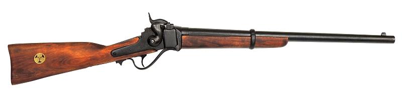 【特価】[尾形刀剣/DENIX] 八重と幕末の洋式銃  シャープスカービン銃(A142N) ブラック※コンビニ受取不可