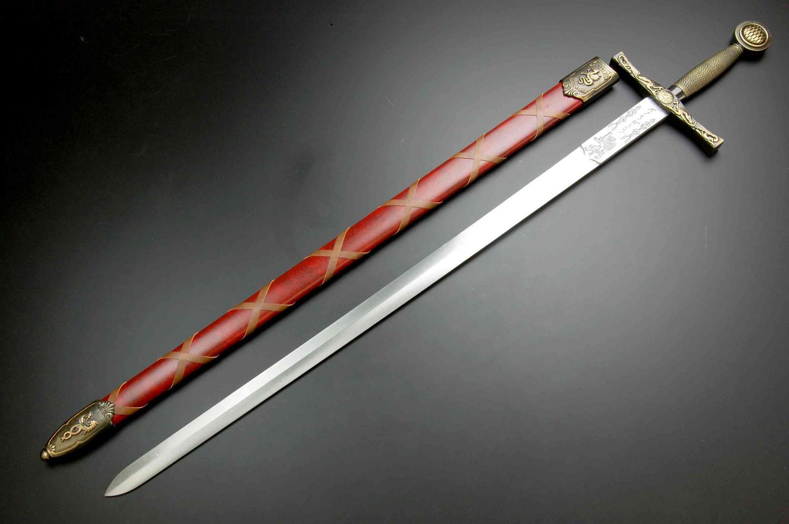 剑_denix (denics) 亚瑟王神剑剑黄金 (4170 l)