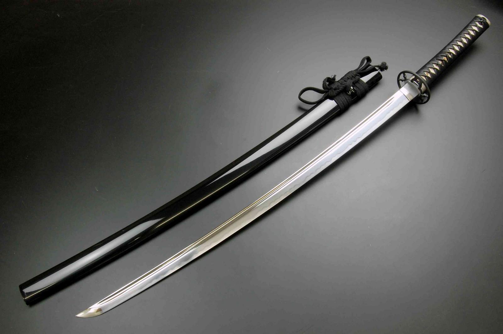 居合練習刀 時代拵え(古刀拵え)樋入大刀(J001-1)
