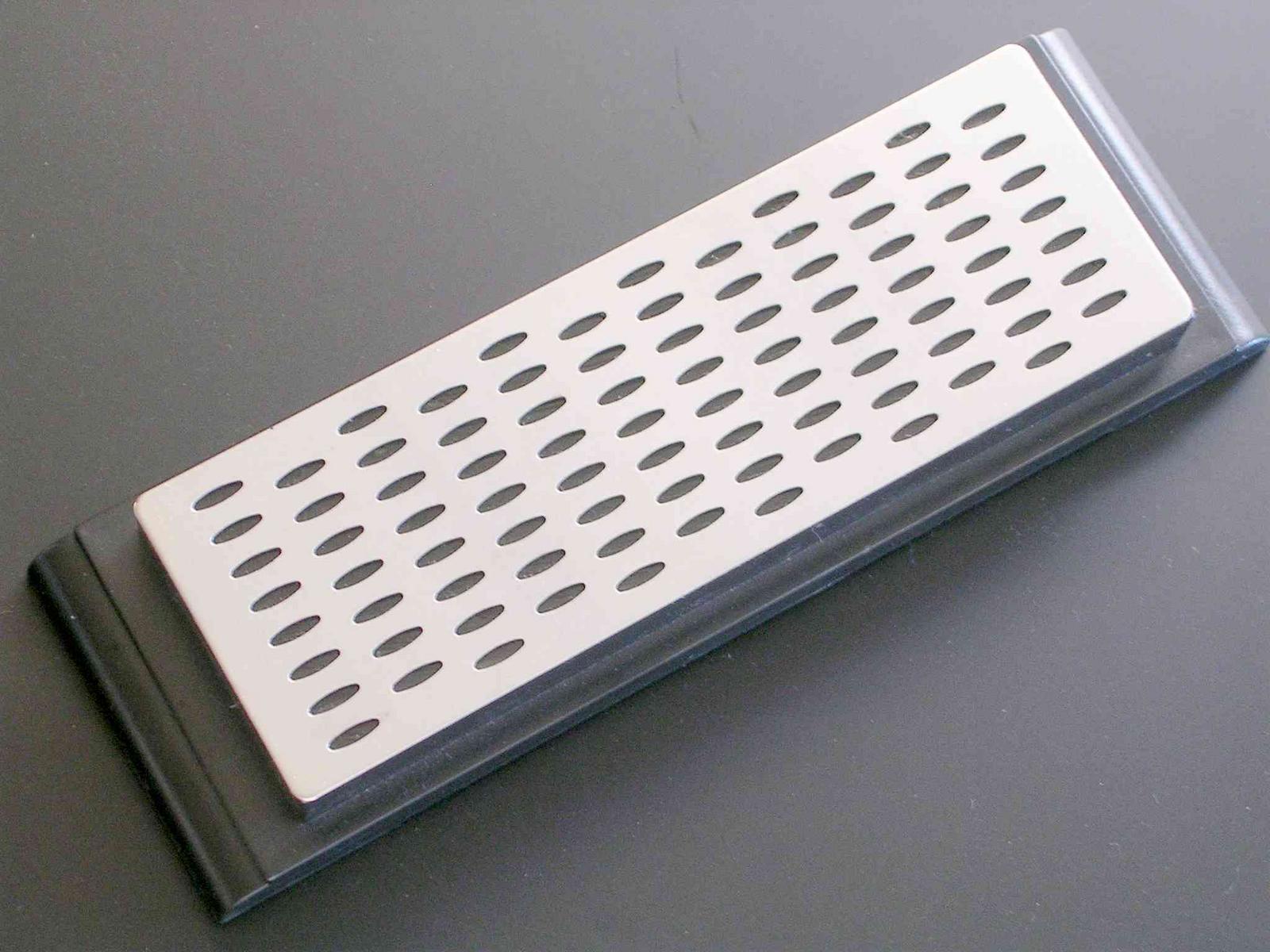 台が付いたシャープナーです ダイヤモンド台付シャープナー (GL014) 包丁用研ぎ器