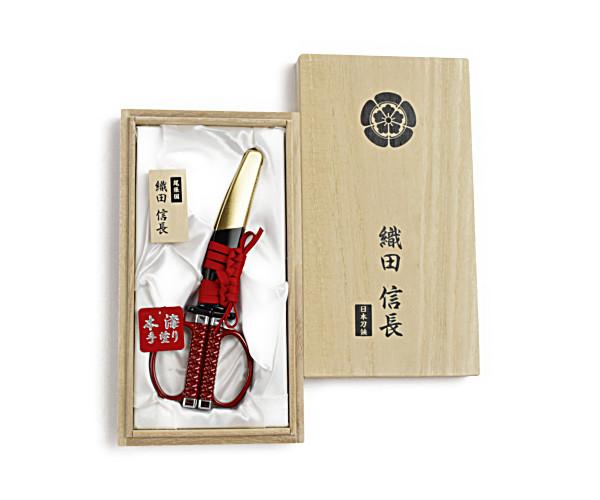 日本刀はさみ 織田信長モデル(SW-100N)