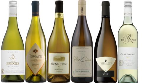 「品種」で楽しむ世界のシャルドネ6本セット 第4弾(白ワインセット)(送料無料)(ワイン)(ワインセット)