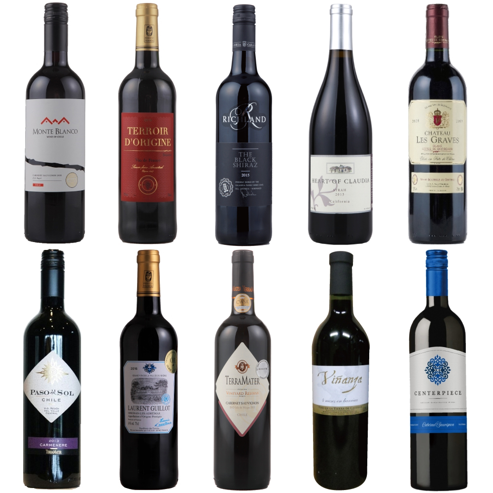 蔵直(R) 赤ワイン10本セット 第24弾(赤ワイン)(送料無料)(ワイン)(ワインセット)