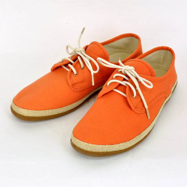 58c9522ca1fa To the person who is shoes shoes plain fabric bare foot bare foot mens men  mail order orange enthusiast in summer for the freaks GP3108 slip-ons    race up ...