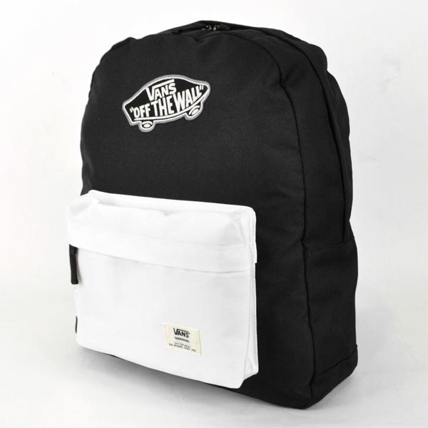 deda19bfcf9 Vans VA15SS-B06 backpack embroidered logo daypack backpack popular brand  simple bag bag mens Ladys ...