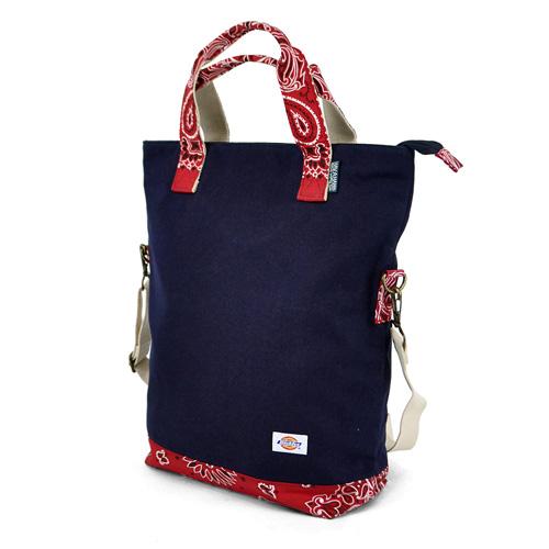 Dickies ディッキーズ バッグ トートバッグ ショルダーバッグ ペイズリー柄 Canvas Tote Bag キャンバストdBoQxerCW