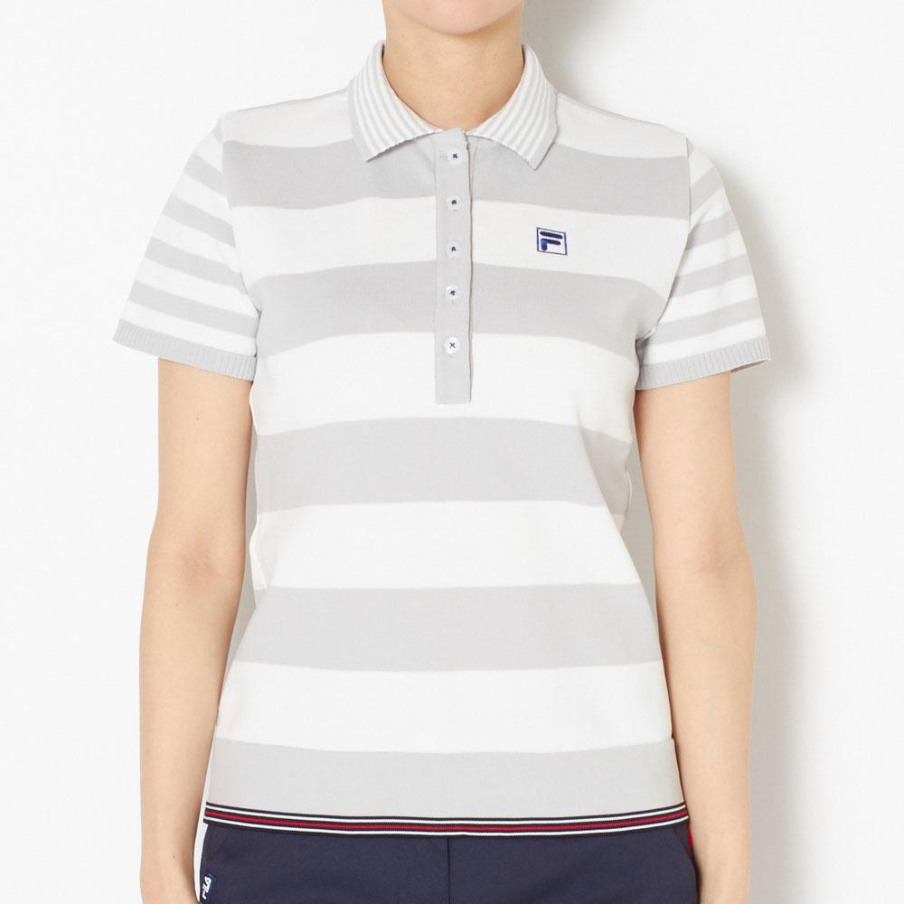 【送料無料】 フィラ ゴルフ ポロシャツ レディース 全2色 M/L FILA GOLF 女性 ゴルフウェア かわいい オシャレ 大きいサイズ レジャー コース 春 夏