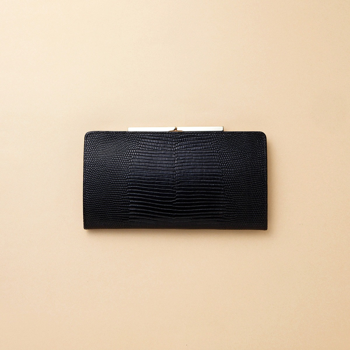 【公式】[トプカピ] TOPKAPI イタリアンレザー・リザード型押し・がま口長財布 LUCIA ルチア