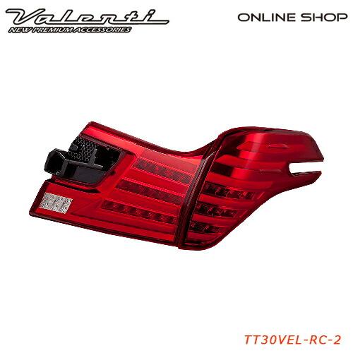 ヴァレンティ ジュエルLEDテールランプ Revo タイプ2トヨタ ヴェルファイア (30系)【VALENTI JEWEL LED TAIL LAMP Revo】[TT30VEL- Type2]