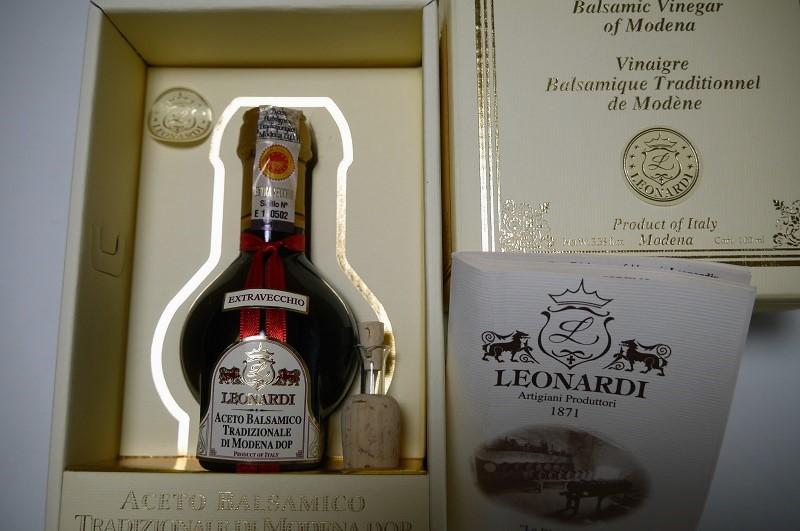 バルサミコ酢 モデナ産 「ストラベッキオ」30年もの【Leonardi】 イタリア産 調味料 バルサミコ