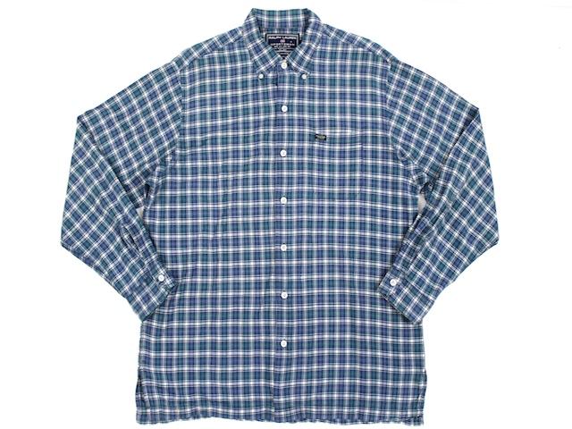 RALPH LAUREN SPORTSMAN■チェックボタンダウンシャツ ネイビー×グリーン×イエロー×ホワイト/L ラルフローレン