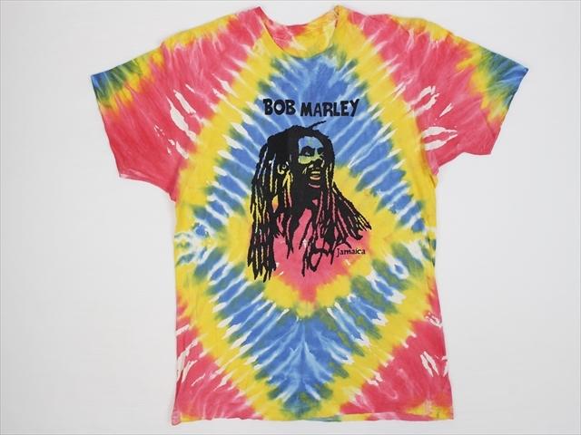 80'S 90'S ボブマーリー タイダイTシャツ(S~M程)