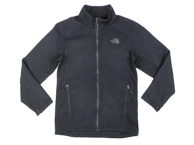 THE NORTH FACE■切り替えデザインフルジップフリースジャケット ブラック/M 2014年製 ノースフェイス