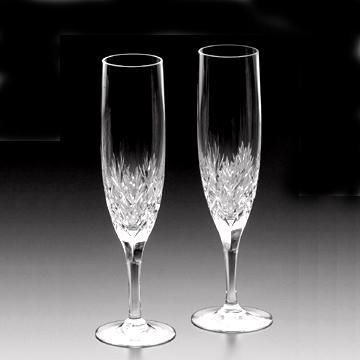名入れ メッセージ彫刻してお届け!!カガミクリスタル(KAGAMI CRYSTAL)ボナールペアシャンパングラス 180cc ペアフルートグラスシャンパングラス