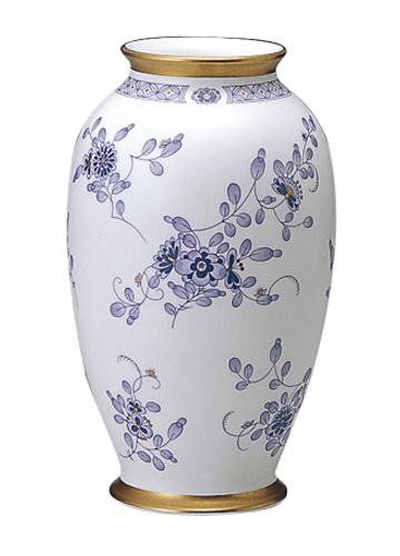 24cm【 花瓶 NARUMI GLASS 】 (鳴海製陶)ミラノ フラワーベース WORKS 花瓶 花器