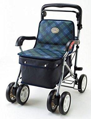 【送料無料】マキテック 座れる歩行補助ショッピングカー ノーブル