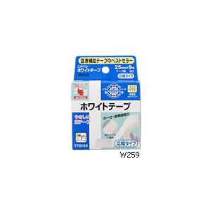 信憑 医療用サージカルテープ ニチバン ホワイトテープ25mm-9M ショッピング 不織布サージカルテープ