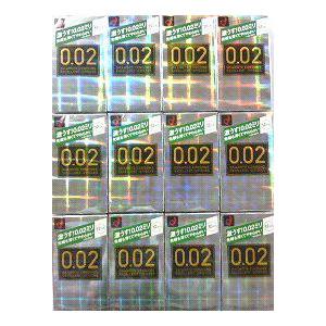 【送料無料】オカモト ウレタン製コンドーム うすさ均一0.02EX 12個入り×12箱【ヘビーユーザー感射セット】【1箱あたり1124円】