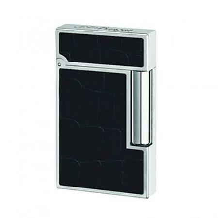 【代引不可商品】デュポン Dupont ライター LIGNE3 16481 ブラック・アリゲーター プレミアムコレクション (国内正規品)