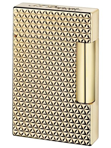 デュポン S.T.Dupont ガスライター ライン2 ファイアヘッド ゴールド 16433 [国内正規品]